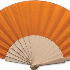 Eventail personnalisé Folklore orange