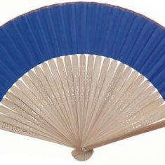 Éventail personnalisé kertex bleu
