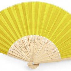 eventail-personnalise-kronix-jaune